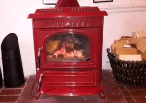 Cottages in Staithes Logburner